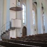 odd shape for a pulpit