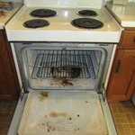 Oven - a wee bit dirty maybe