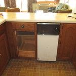 missing cabinet door