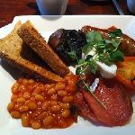 The 'Mini Breakfast' £5.50