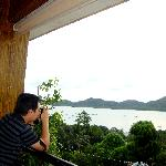 picture perfect of coron bay from their restobar