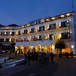 Hotel Playa Sol at night