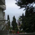 Vista dal balcone della nostra stanza