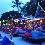 Restaurants on Koh Samui beach