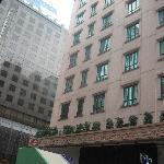 the hotel backside