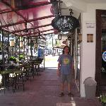 Outside of Cafesto