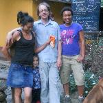 Me with the Quello Mayo family