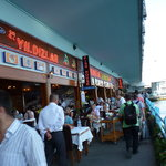 Restaurants on Galata bridge