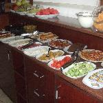 Breakfast buffet - marvelous local fare