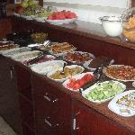 Breakfast buffet - marvelous local fare