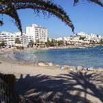spiaggia vicino all'hotel