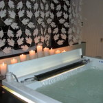 Great private jacuzzi in Royal Suite.
