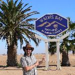 Arrived at Walvis Bay, Namibia
