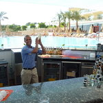 Eissa - barman at main pool