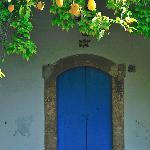I limoni sopra una porta di una camera