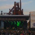 Musikfest Sands Steel stage Aug 2011