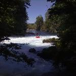 Kayaking al Salto del Carileufu