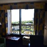 Room towards balcony