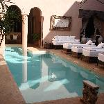 pool at riad