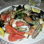 Seafood platter-La Nostra Padrona.