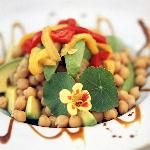 Chick Pea & Avocado Salad