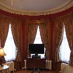 Rotunda Room bay window