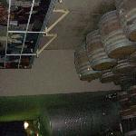a peek into the wine cellar