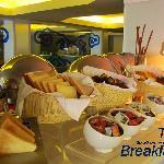Breakfast at Taste Restaurant
