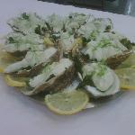 sorbet très spécial au huîtres
