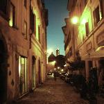 the street by night