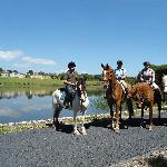 Horse Trekking at Ballyfin
