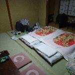 The single twin bed room.