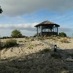 gazebo en la playa