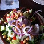 half garden salad