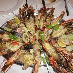 """Esquisita comida en el """"Seafood Restaurant"""""""