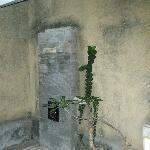 open air shower