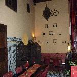 winter dining area