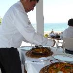 Tasty local specialities like paella