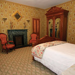 Our room was furnished with handsome, interesting antiques ...