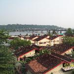 View of river Mandovi from our room