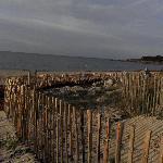 la plage (en octobre)