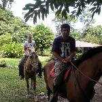 Horseriding tour at Casitas Tenorio