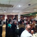 busy restaurant..