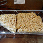 Giant Rice Krispy treat!