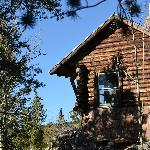 Warming hut at top of Mtn.