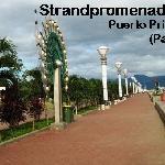 Strandpromenade in Puerto Princessa