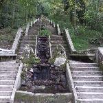 Grande cascade de la Mata (forêt) de Buçaco