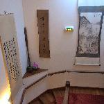 階段の掛け軸
