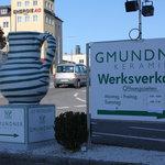 Wegweiser zur Gmundner Keramik