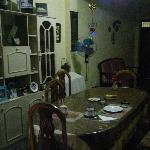 Breakfast and dinner in the familly home with lots of history